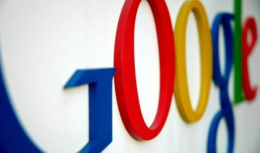 GoogleLogoOnWall