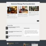 Website Design Screenshot Kimura Interiors