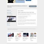 Website Design Screenshot Sue My Job