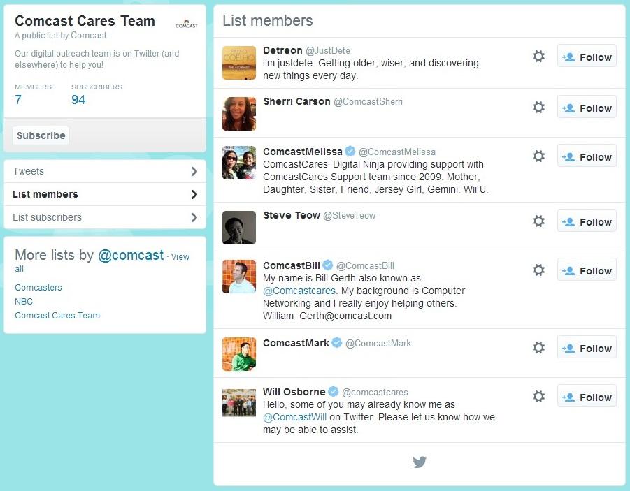 comcast-Comcast-Cares-Team-on-Twitter