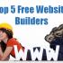 Top 5 Free Website Builders 2