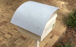 mailbox in Perth Australia (c) Shauna McGee Kinney