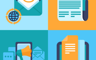 email-marketing-concepts-flat-icons